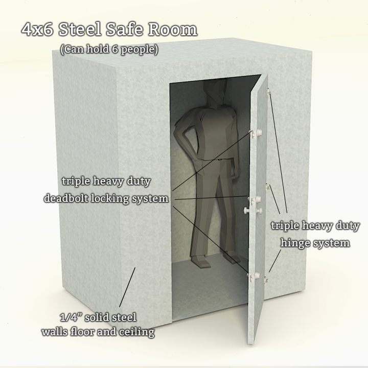 Steel Safe Rooms
